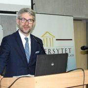 Na zdjęciu Mirosław Sanek, zastępca Prezesa Urzędu Ochrony Danych Osobowych.